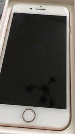 iPhone 8 64gig Rose gold