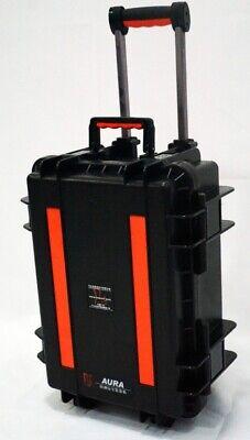 Aura Waterproof Crushproof Dustproof Hard Case 18 x 13.7 x 8 Black for sale  Shipping to India
