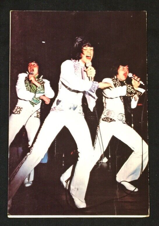1979 THE OSMONDS American family music group Malaysia postcard Used!
