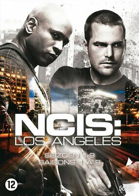 DVD BOX - NCIS LOS ANGELES - CHRIS O'DONNELL S1-9  (NEW / NIEUW  / SEALED)