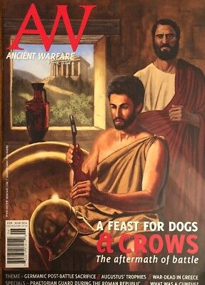 Ancient Warfare Vol IX Issue 6 Feast For Dogs And Crows Battle FREE SHIPPING - Dog Magazines For Kids