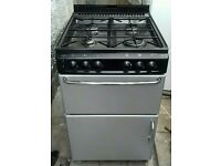 """GAS COOKER """" NEWHOME """" 55CM. GLASS LID"""