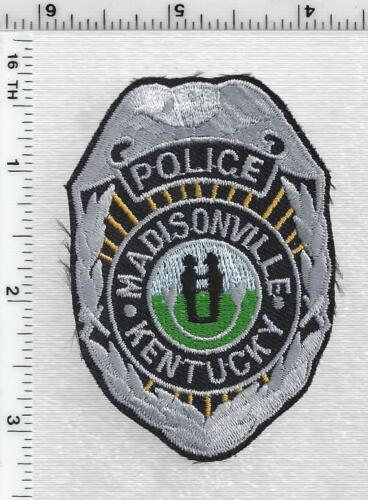 Madisonville Police (Kentucky) 1st Issue Cap/Hat Patch