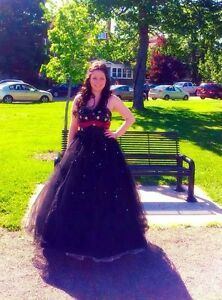 Black Princess Prom dress