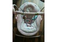 Baby girls swing chair