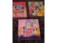 My Little Pony Canvas Set