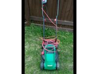 Qualcast lawn mower.