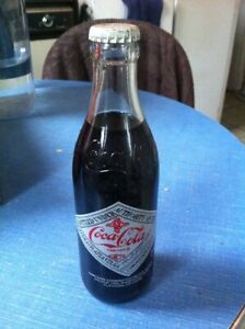 Coca-Cola   Bouteille de Collection America's Cup