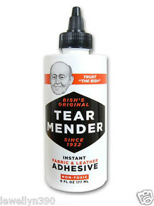 TEAR-MENDER-Fabric-Leather-Adhesive-6oz-TG-6-NEW