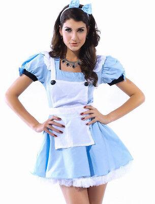 Kostüm Alice im Wunderland Gr.34/36 - Alice Kostüm