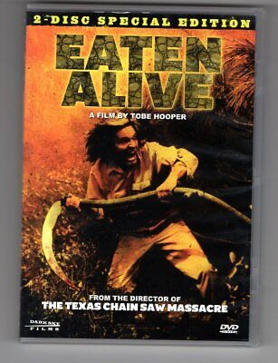 Eaten Alive (1976) DVD case & sleeve & disc NM! PRIVATE COLLECTION Tobe Hooper