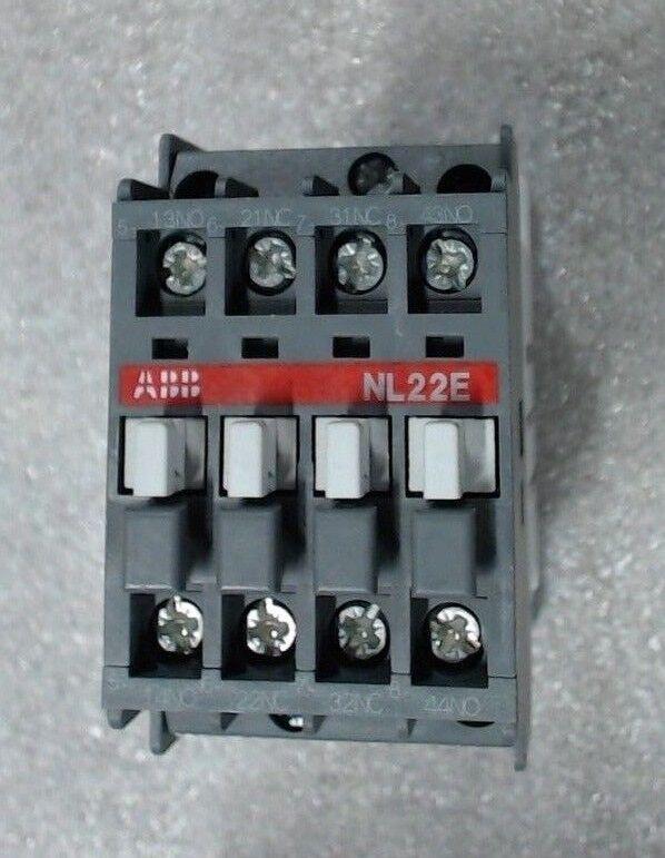 ABB NL22E-86 control relay 2NO / 2NC 110VDC Coil 16A - 60 day warranty