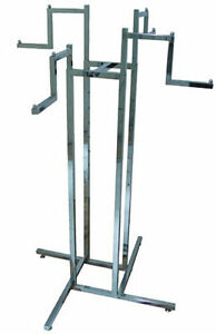 NEW-4-WAY-STEPPED-ARM-HEAVY-DUTY-CLOTHES-DRESS-STAND