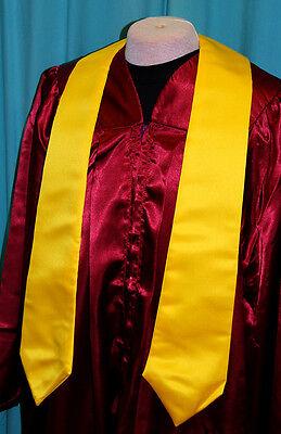 V Stola Kirchenchor Chor Gospelchor Chorrobe Robe gelb