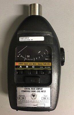 General Radio 1565-b Sound Level Meter