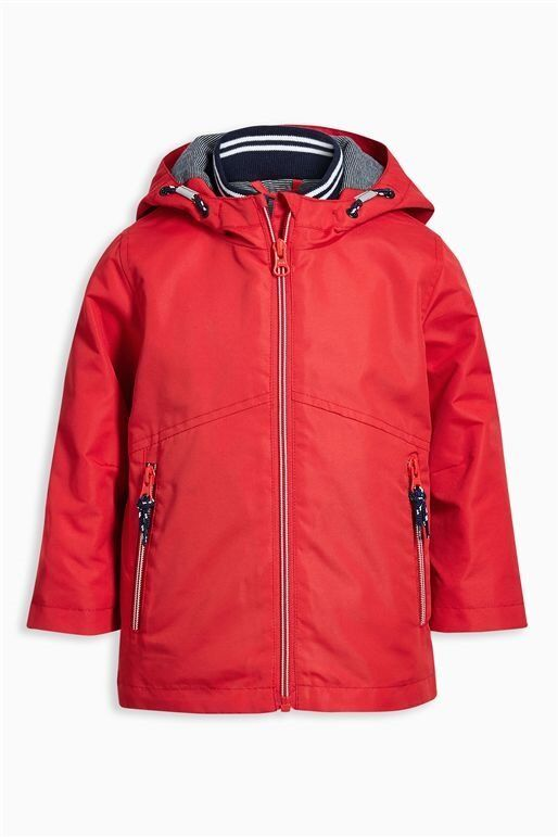 Boys Next 82 Jacket Anorak Red Padded 14 Years