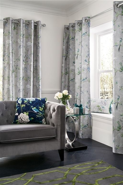 Stunning Next Curtains Matching Rug And Cushions