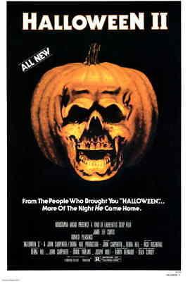 HALLOWEEN II Movie Poster | 11x17 | Licensed - New | John Carpenter (1981)](Halloween 1981 Movie)