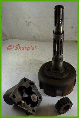 Ab5174r A4793r John Deere 50 520 530 Pto Clutch Pack Drum With Oil Pump Usa