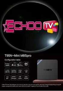 Android TV Box + 1 Year Echoo IPTV Subscription! *Special Offer*