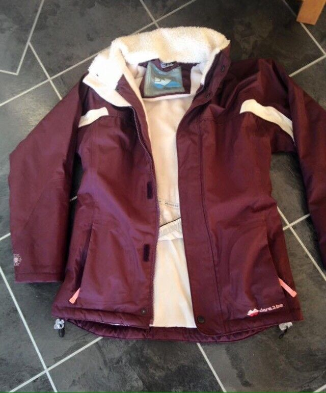 girls ski wear jacket and trousers winter ideal for camping scouts sledging snow suit 11 yrs tog