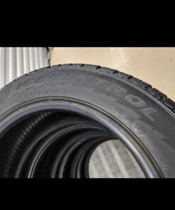 Used Winter Tires : 205/55/R16