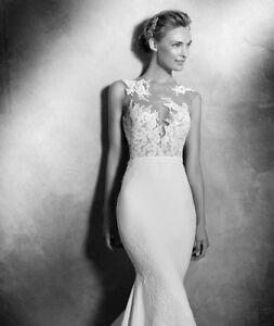 USED Pronovias Vicenta wedding dress (wedding was on July 1st)