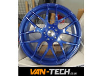 Blue Calibre Exile-R 20″ Alloy Wheels fit VW Transporter T5 T5.1 and T6