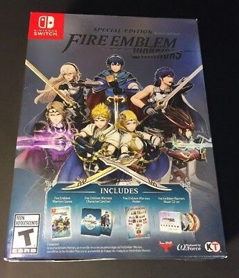Fire Emblem Warriors   Special Edition    Nintendo Switch  New