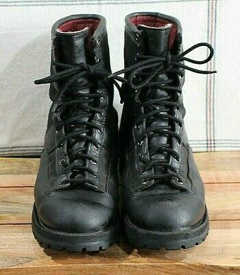 Danner Recon 200G GTX black leather insulated combat work hunting boots 69210