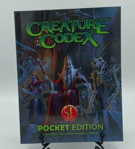 Creature Codex (5E) Pocket Edition  - Kobold Press - For D&D Fifth Edition