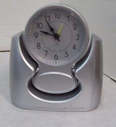 Whisper Quiet Battery Operated Quartz Alarm Clock,  M3
