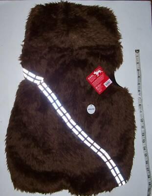 NWT Star Wars Chewie Hoodie Chewbacca Dog Costume XXL Halloween 2X - Xxl Chewbacca Costume