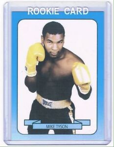 1987-88 Mike Tyson Boxing card