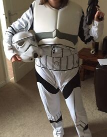 Star Wars Stormtrooper Halloween costume fancy dress outfit excellent condition