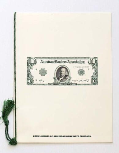 American Bank Note Co., 1975 American Bankers Association Presentation Folder