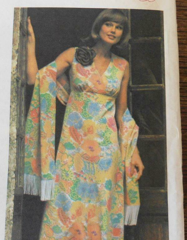 FF Vintage 60s Butterick 4213 Sewing Pattern Seams Slimmer Dress 18 UC