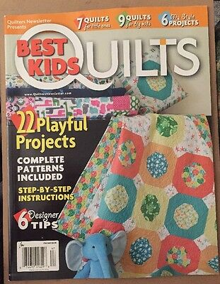 Best Kids Quilts Playful Projects Designer Tips Spring 2015 FREE