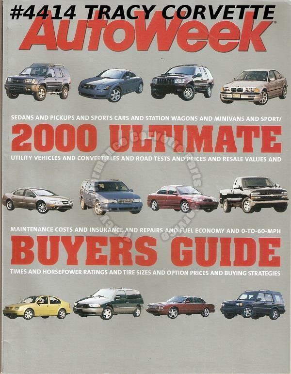2000 Autoweek Ultimate Buyers Guide BMW M Coupe Lotus Esprit V8 Jaguar S-Type