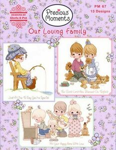 Details about precious moments counted cross stitch charts book our