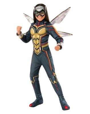 NWT - Marvel Wasp Avengers Deluxe Girls Halloween Costume - S (4-6)