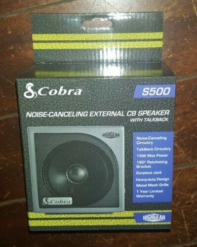 Cobra  Noise-Canceling External CB Speaker with Talkback - Item# S500