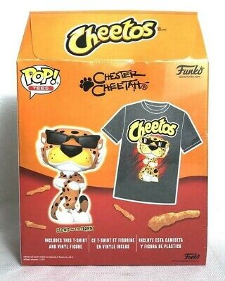 Funko cheeto vinyl figure and gray t-shirt size XL NEW W/tags!Target Exclusive!