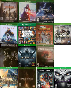 Great XBOX One games for sale (Various Prices) `