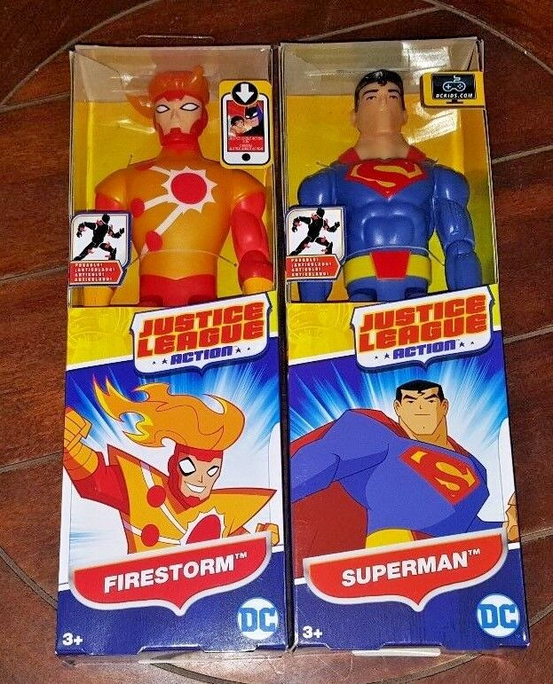 "DC Comics Justice League Firestorm Action 4/"" Action Figure"