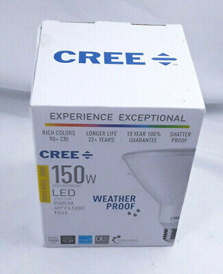 CREE LED Bulb Spot Flood Light Dimmable Lighting Indoor Outdoor 120W/150W PAR38 Indoor Spot Bulb