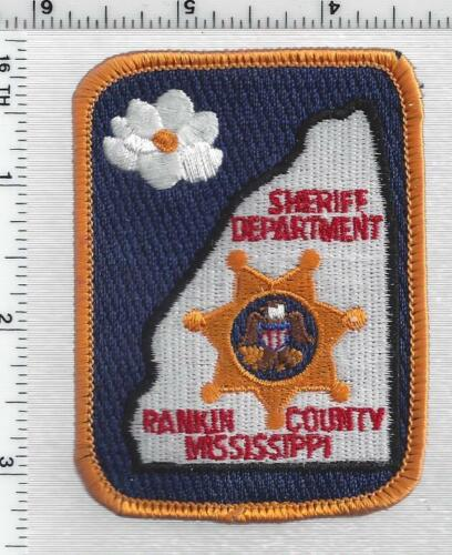 Rankin County Sheriff (Mississippi) 4th Issue Cap/Hat Patch