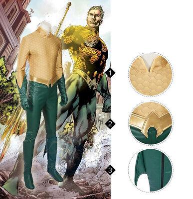 Arthur Halloween-kostüm (Aquaman Arthur Curry DC Film Movie Halloween Cosplay Kostüm Costume Outfit)