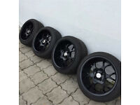 Borbet Bs 16x9j Deep Dish Alloy Wheels 4x100 VAG