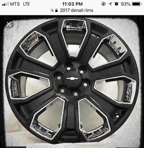 Looking for 2017 Denali rims for sale